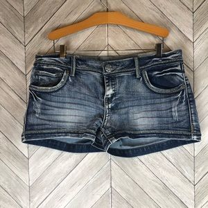 Vanilla Star jean shorts Junior size 13